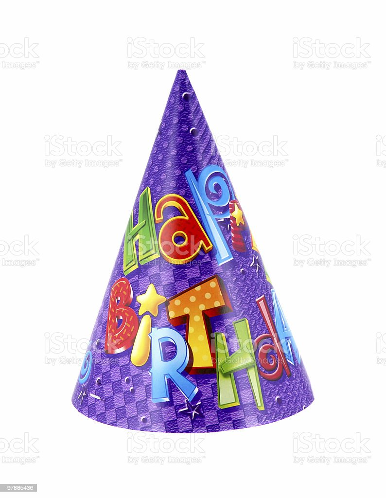 Party hat  10 royalty-free stock photo