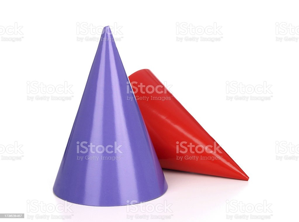 Party Hat Duo stock photo