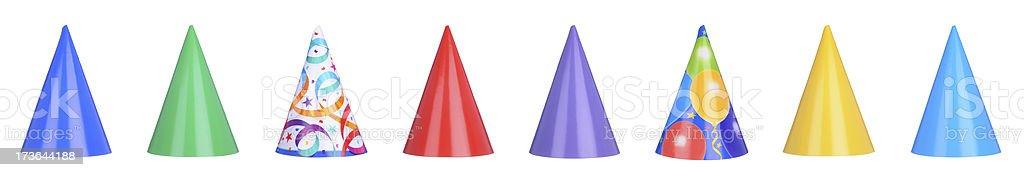 Party Hats! (XXXL) royalty-free stock photo