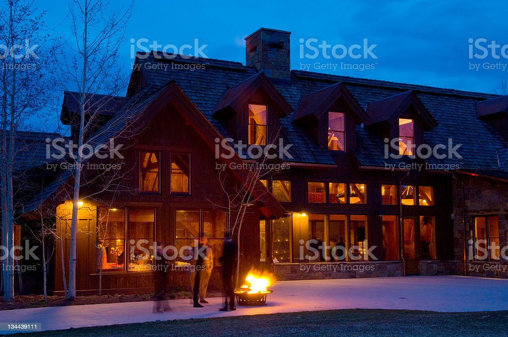 Party House royalty-free stock photo