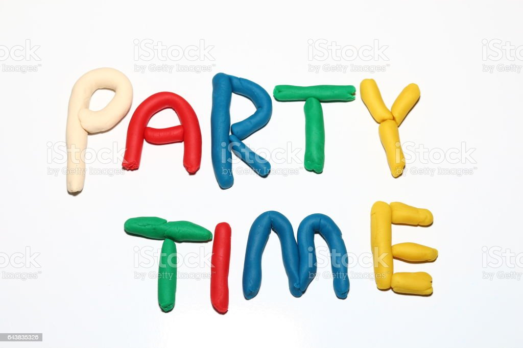 Party image stock photo