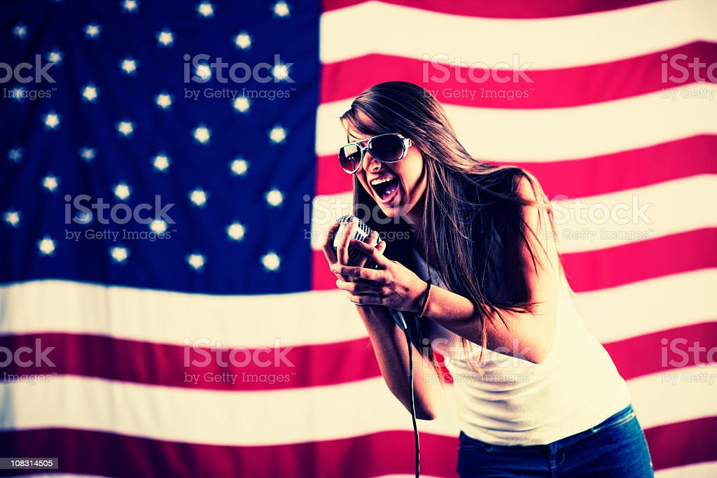 Party in the USA royalty-free stock photo