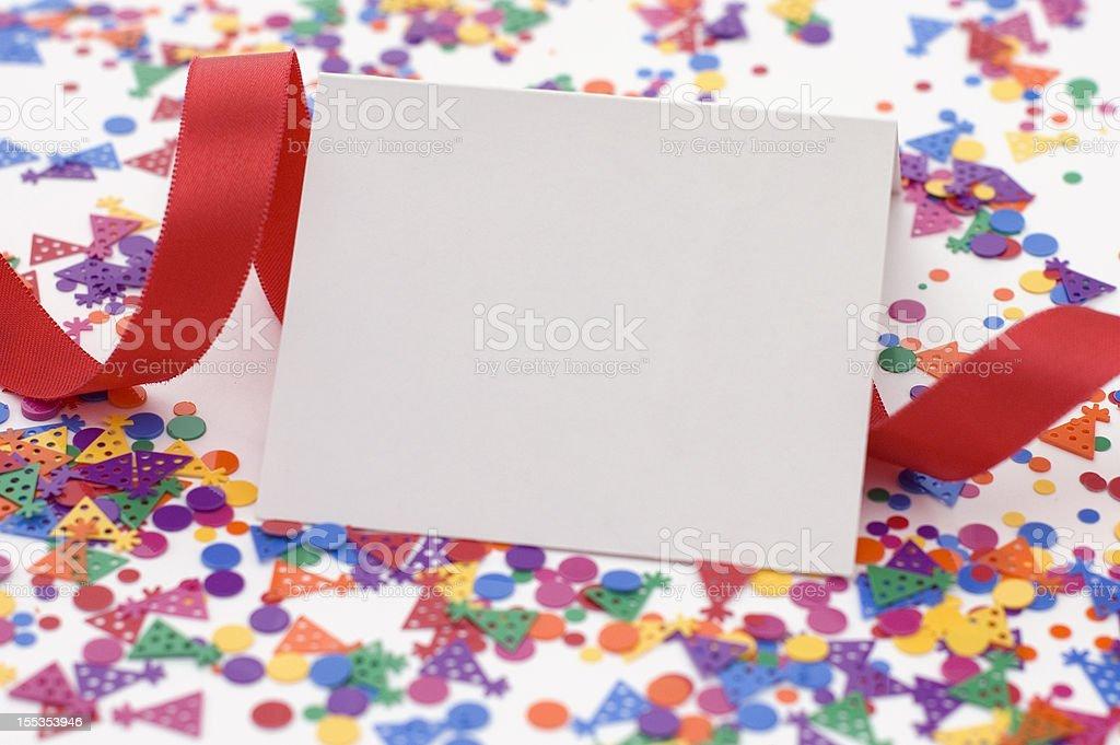 Party Invitation royalty-free stock photo