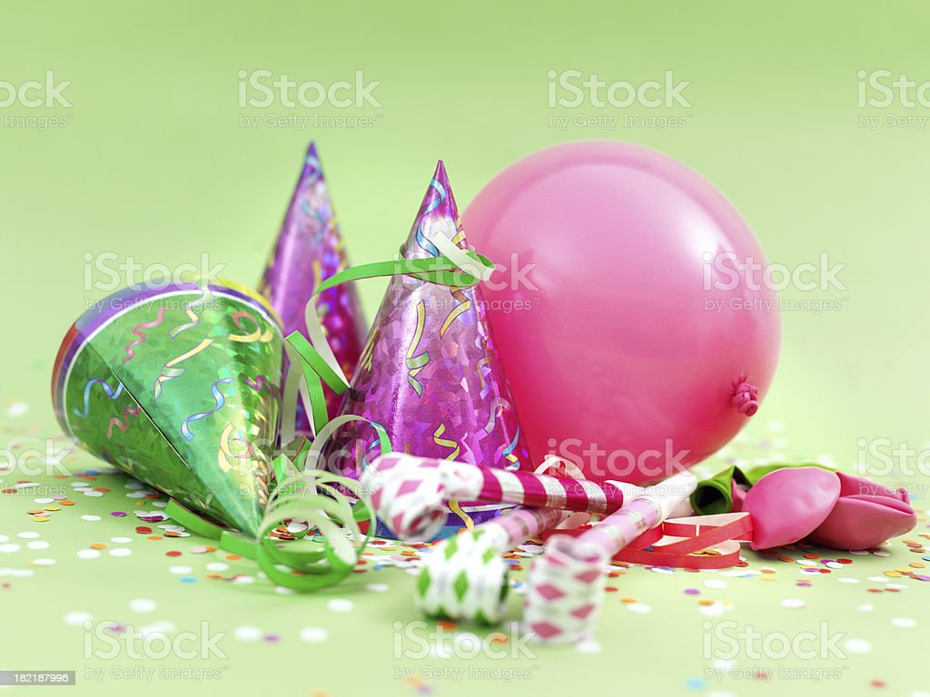 Party items royalty-free stock photo