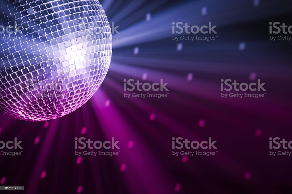 party lights disco ball royalty-free stock photo