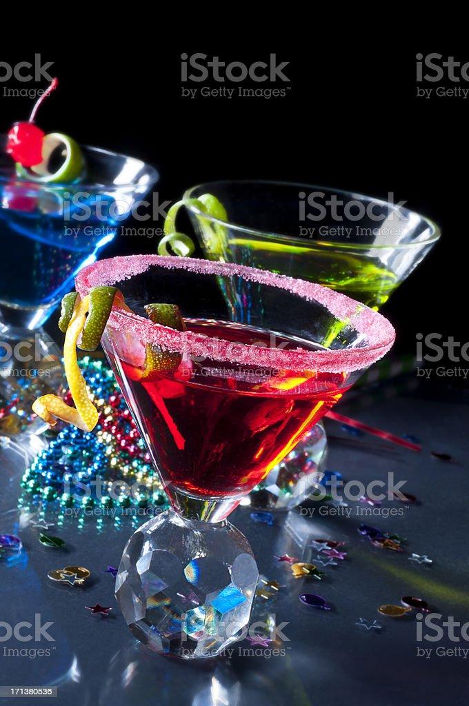 Party Martini stock photo