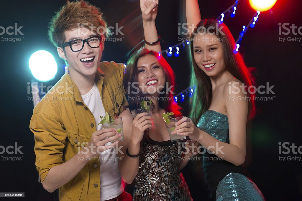 Party people royalty-free stock photo