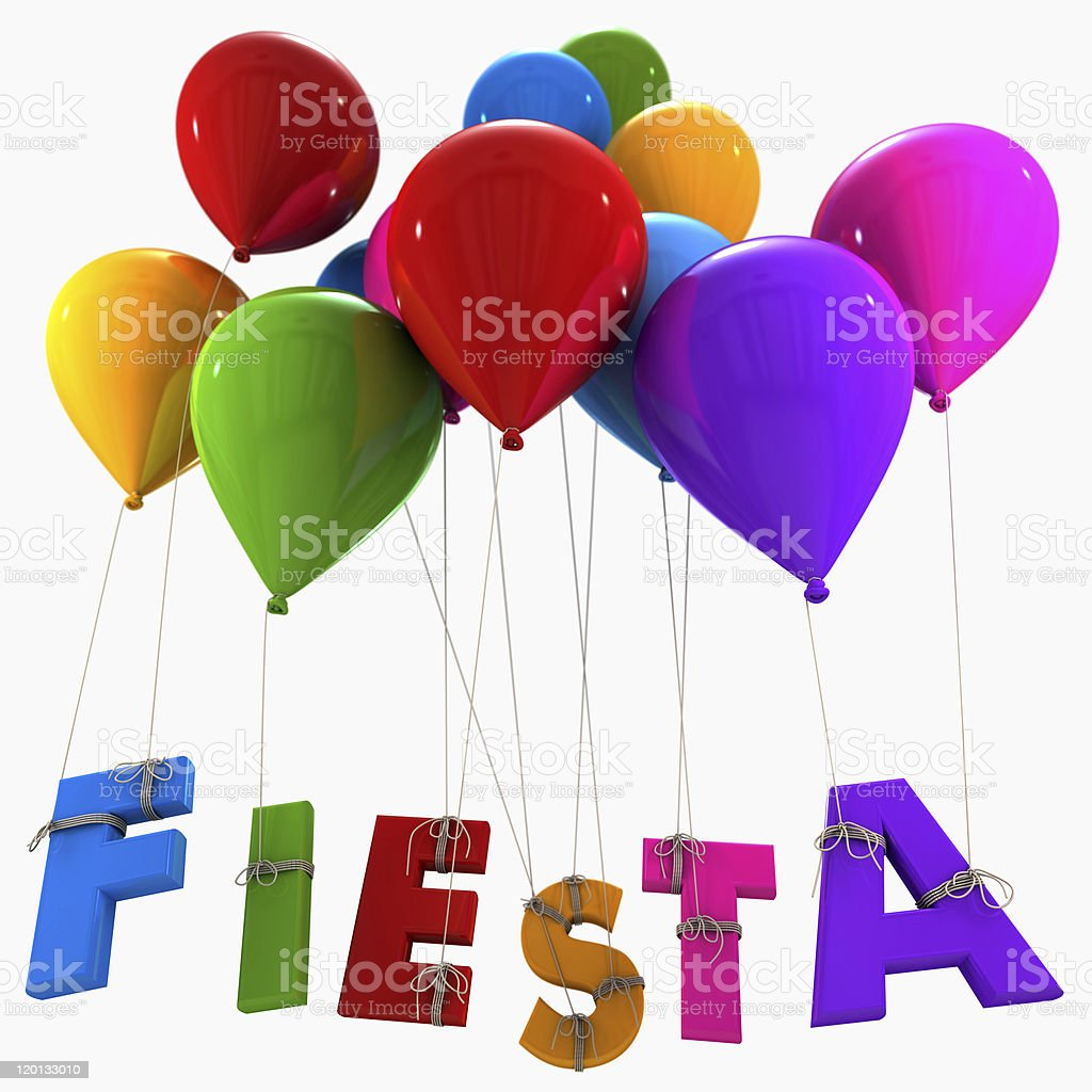 Fiesta royalty-free stock photo
