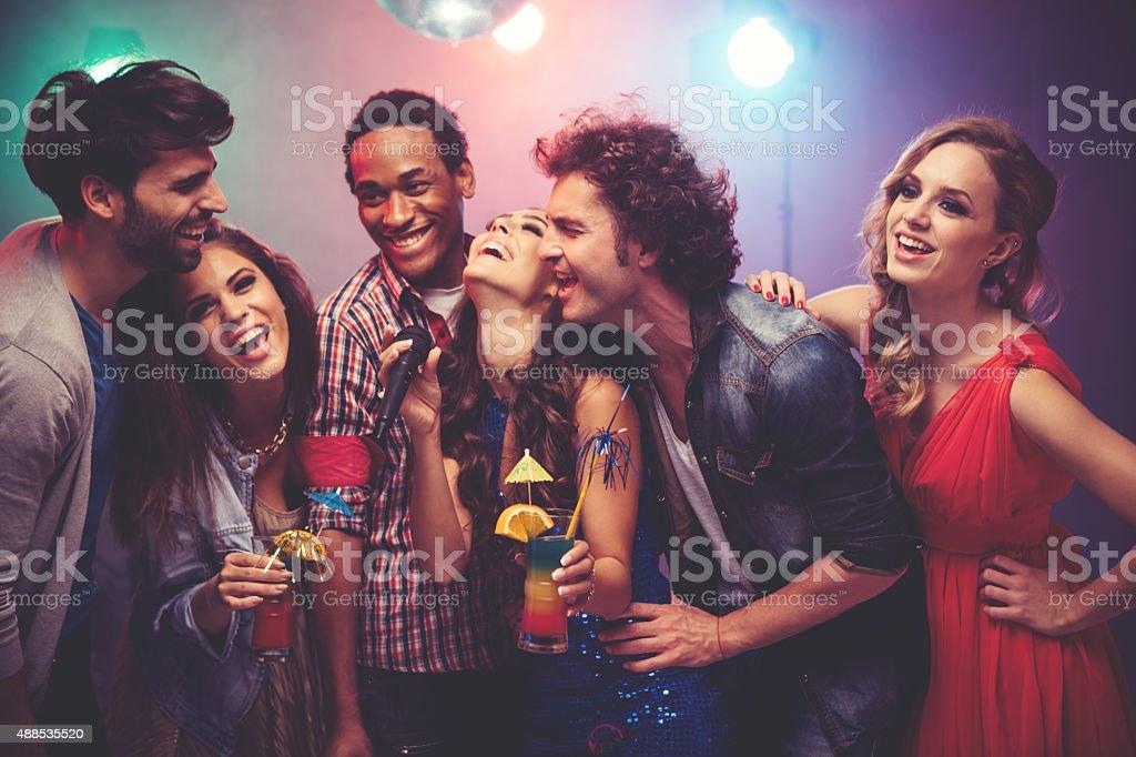 Party. stock photo