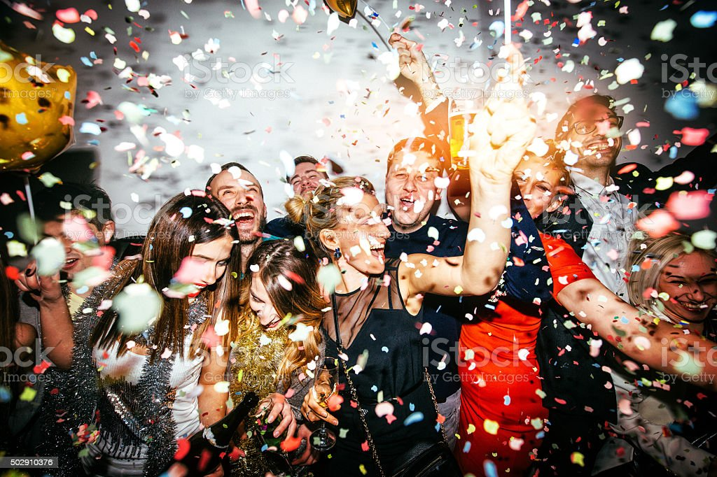 Party! stock photo