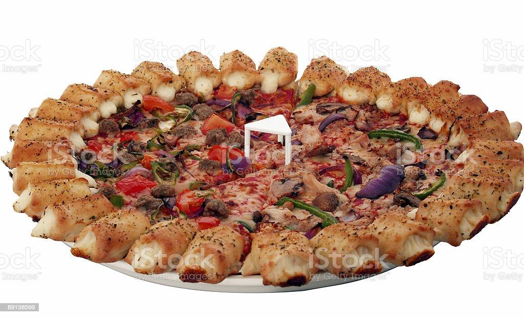Party Pizza royalty-free stock photo