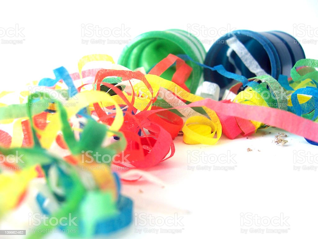 Party Poppers stock photo