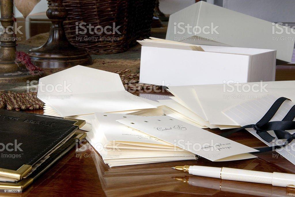 Party Preparation stock photo