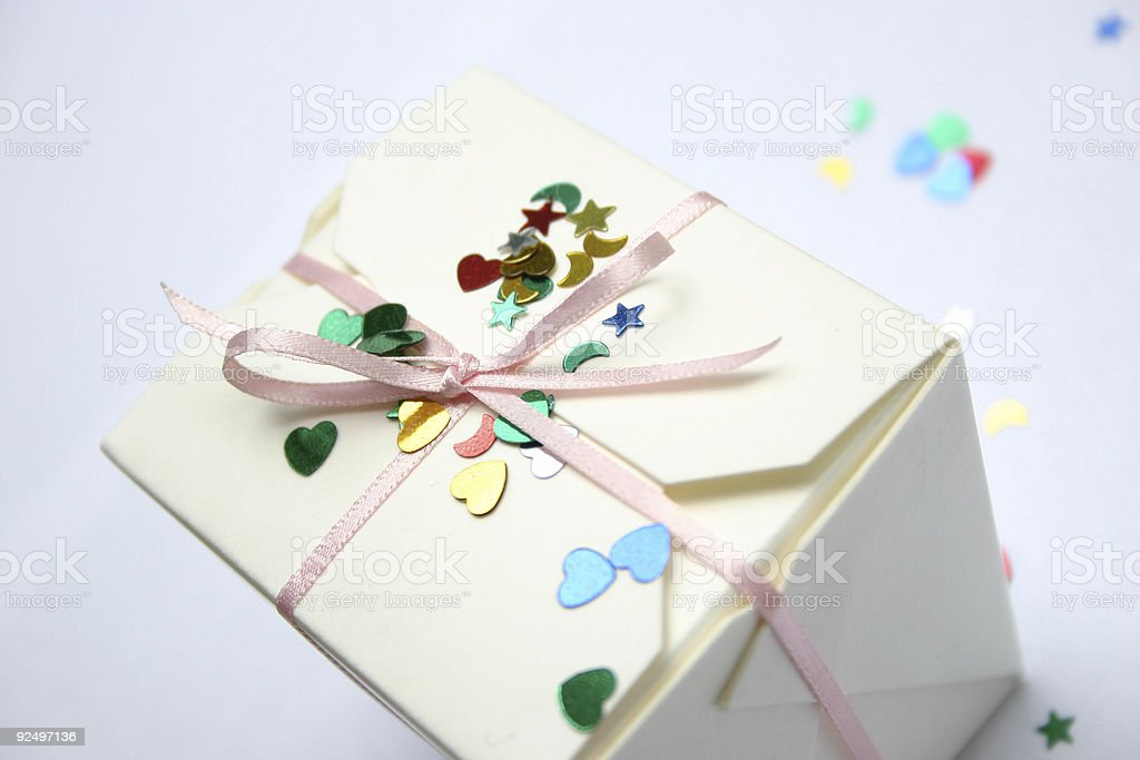 Party Present royalty-free stock photo