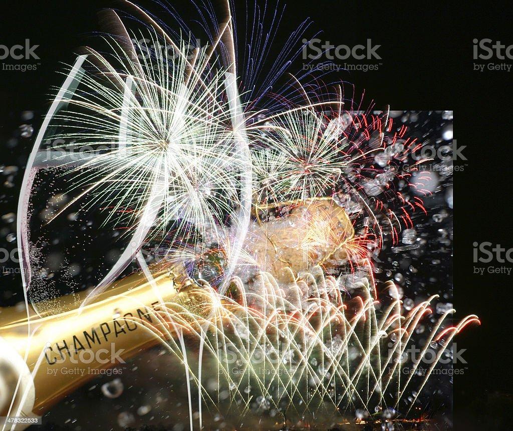 Party scene royalty-free stock photo