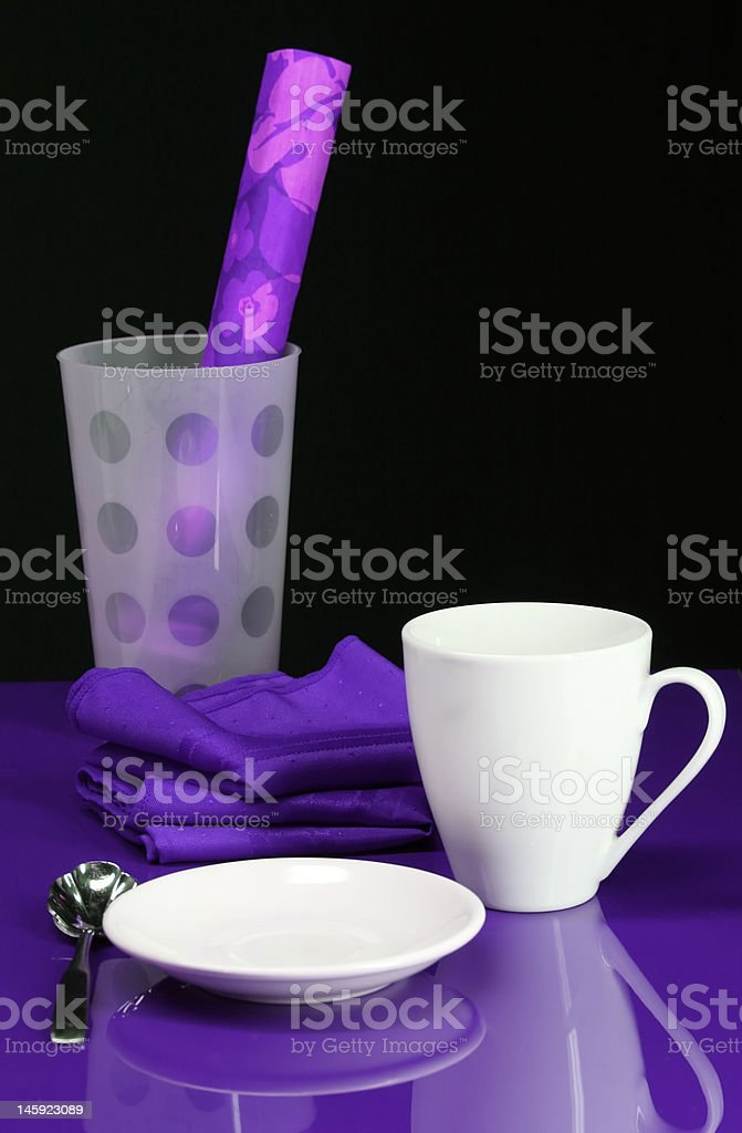 Party Table royalty-free stock photo