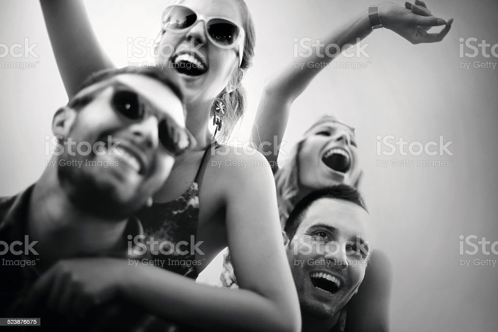 Party time. stock photo