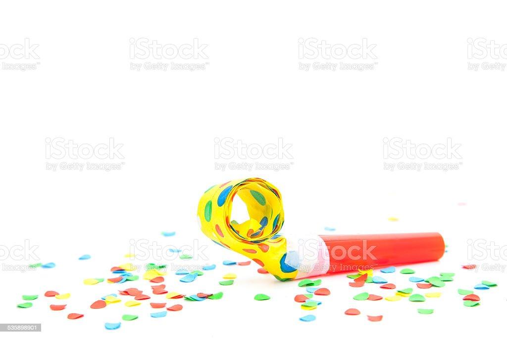 Party utensils stock photo