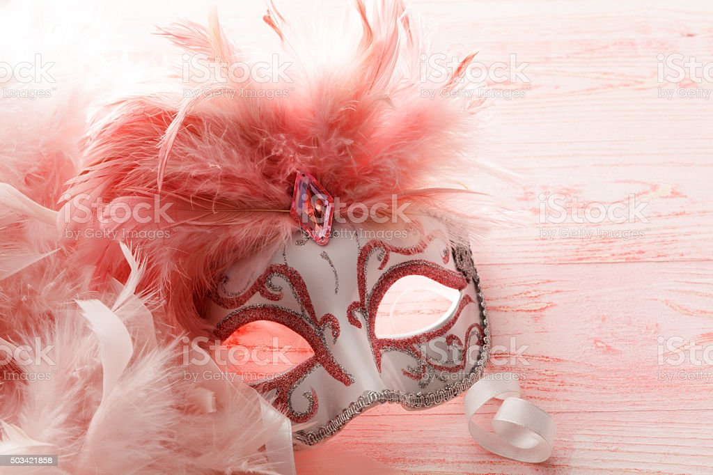 Party: Venetian Mask stock photo