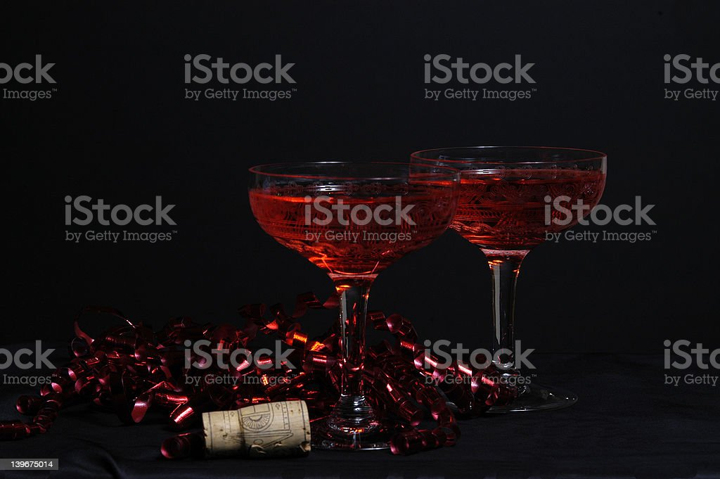 Party Wine royalty-free stock photo