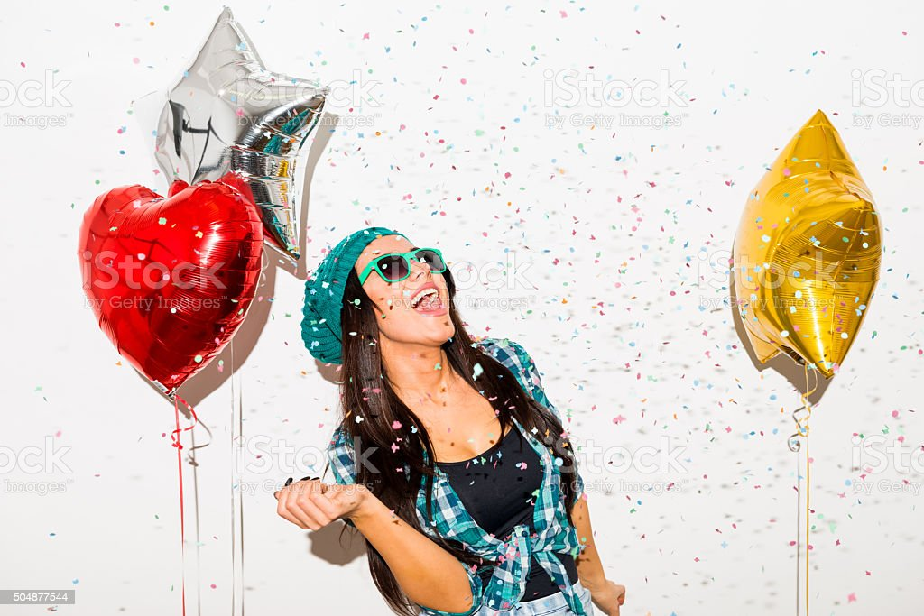 Party Woman stock photo