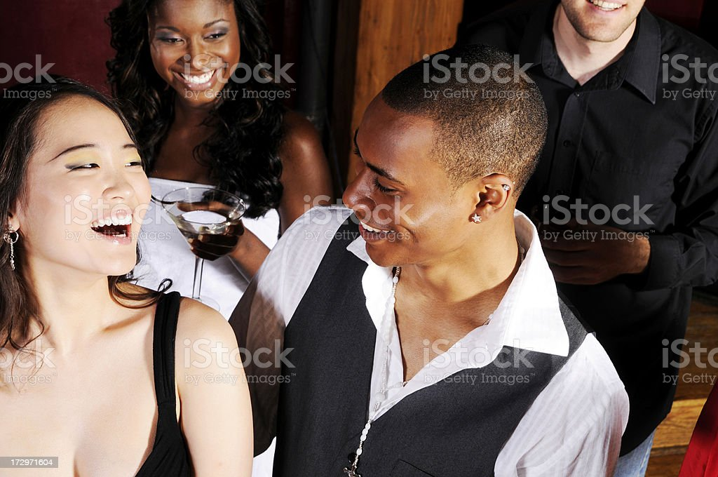 Partying It Up royalty-free stock photo