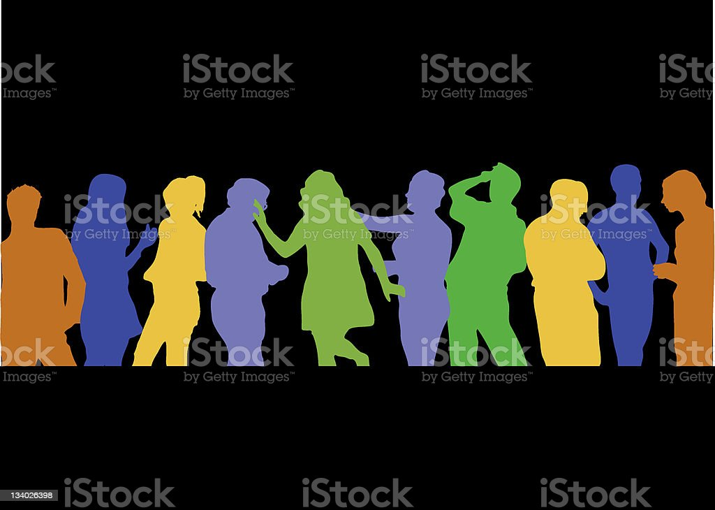 partypeople royalty-free stock photo