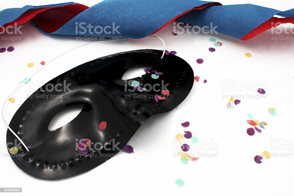 party's over royalty-free stock photo