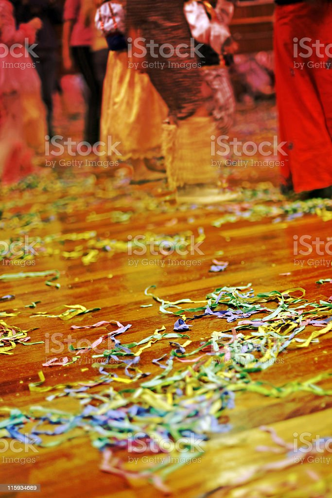 Party-time floor royalty-free stock photo