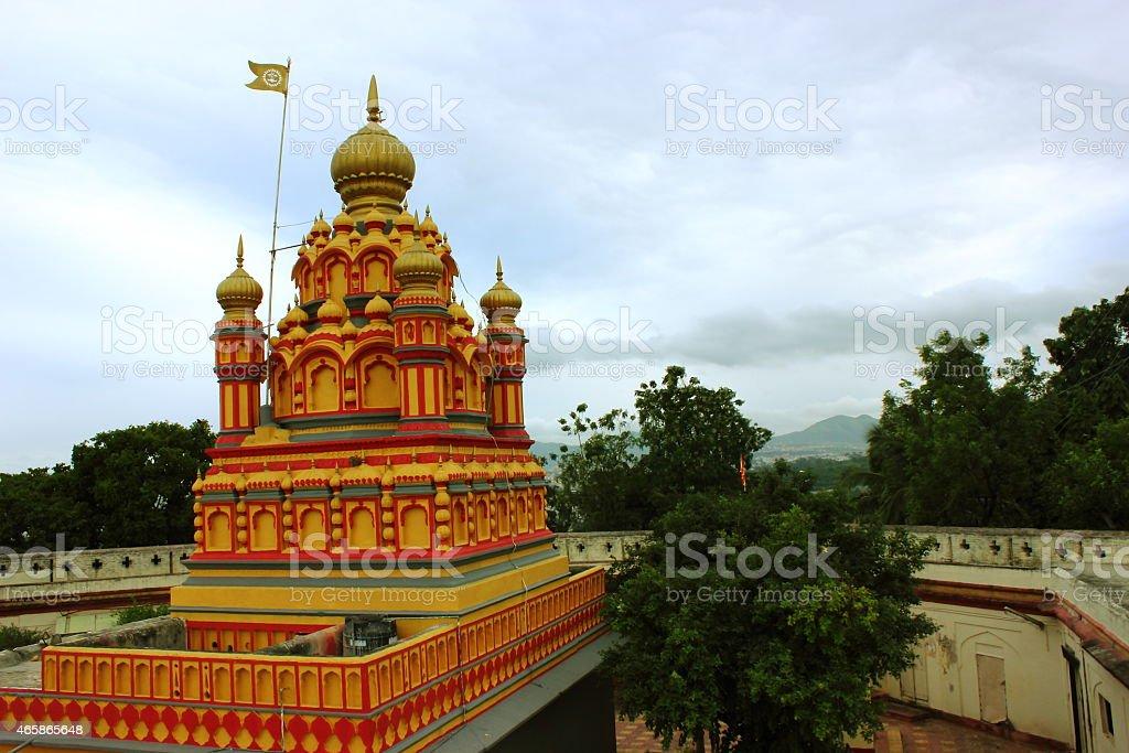 Parvati Temple on Parvati hill in Pune stock photo