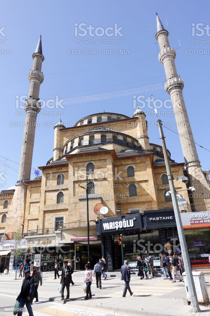 Pasa Camii mosque in Sivas City stock photo
