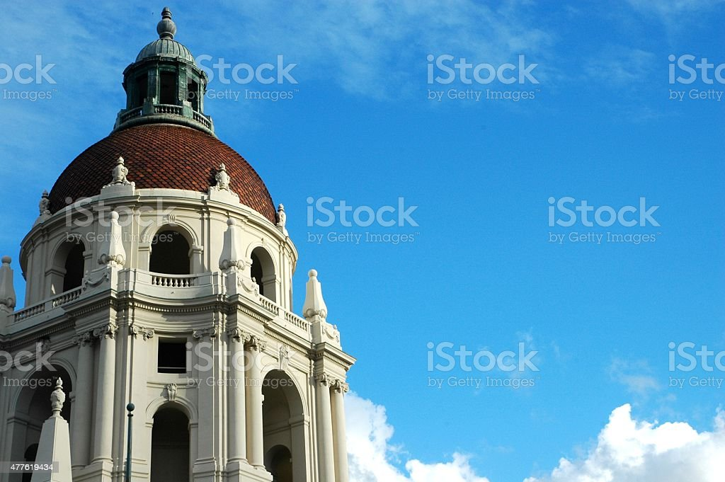 Pasadena City Hall stock photo