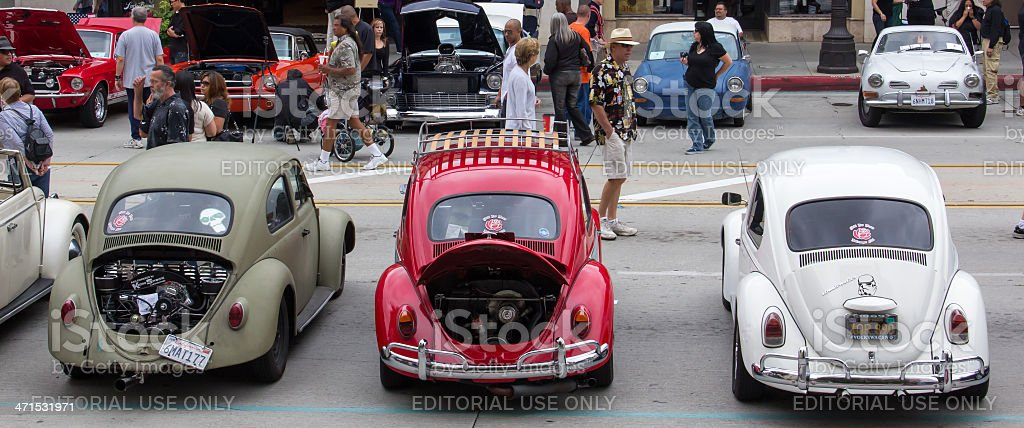 Pasadena Police Annual Classic Car Show royalty-free stock photo
