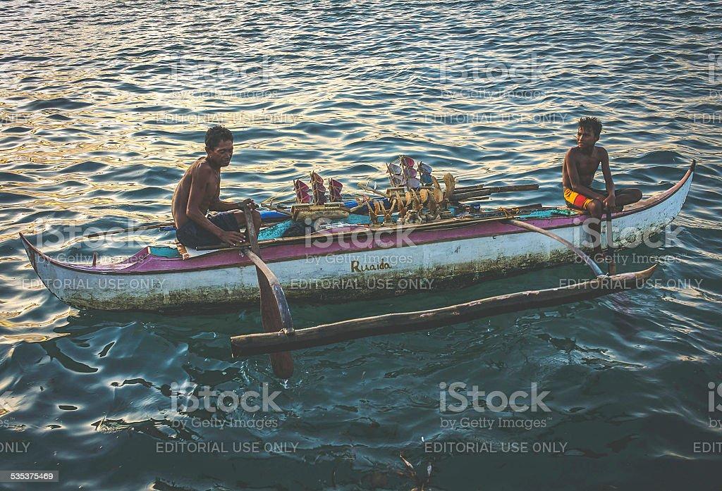 Paseo del Mar, Zamboanga stock photo
