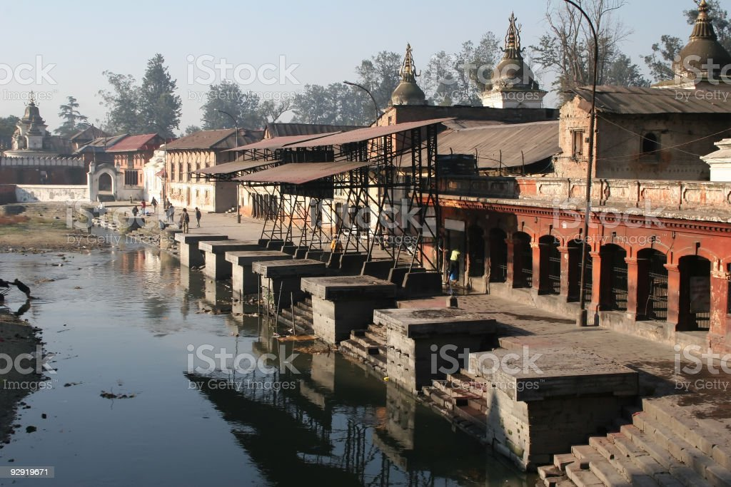 Pashupatinath, Nepal royalty-free stock photo