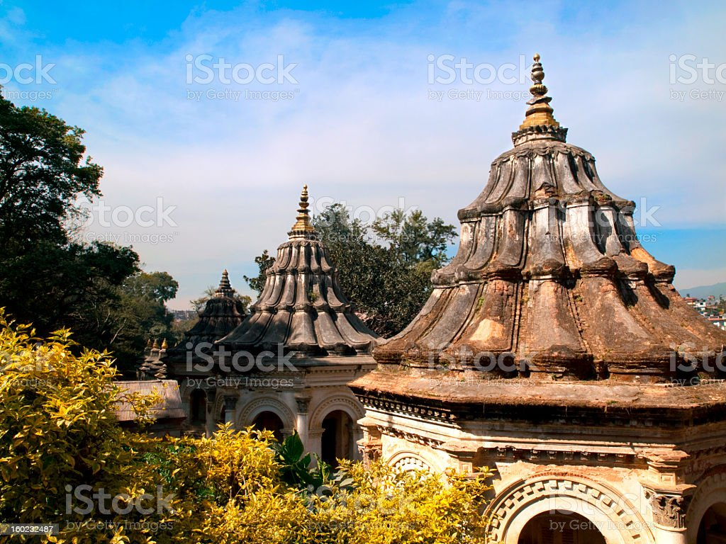 Pashupatinath. stock photo