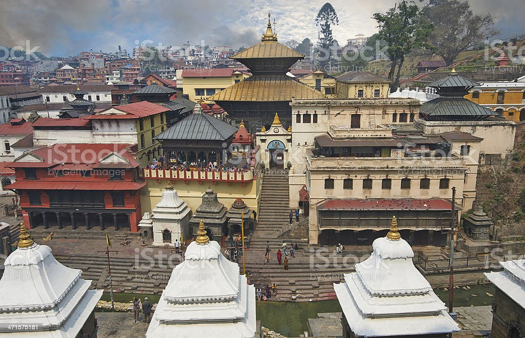 Pashupatinath stock photo
