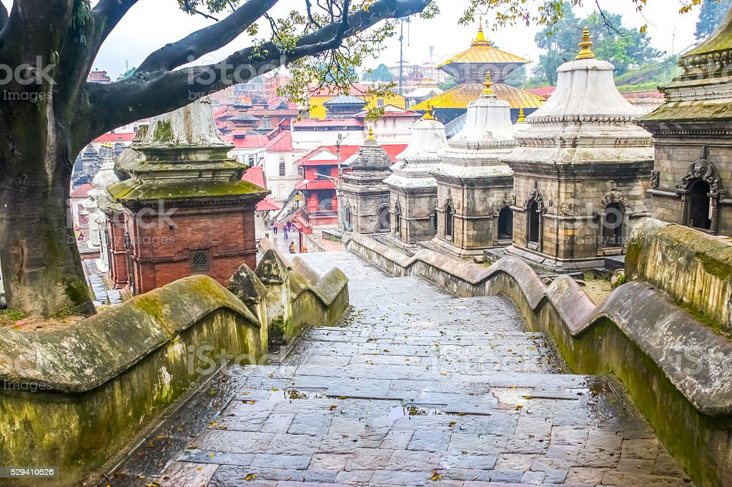 Pashupatinath Temple,Kathmandu,Nepal stock photo