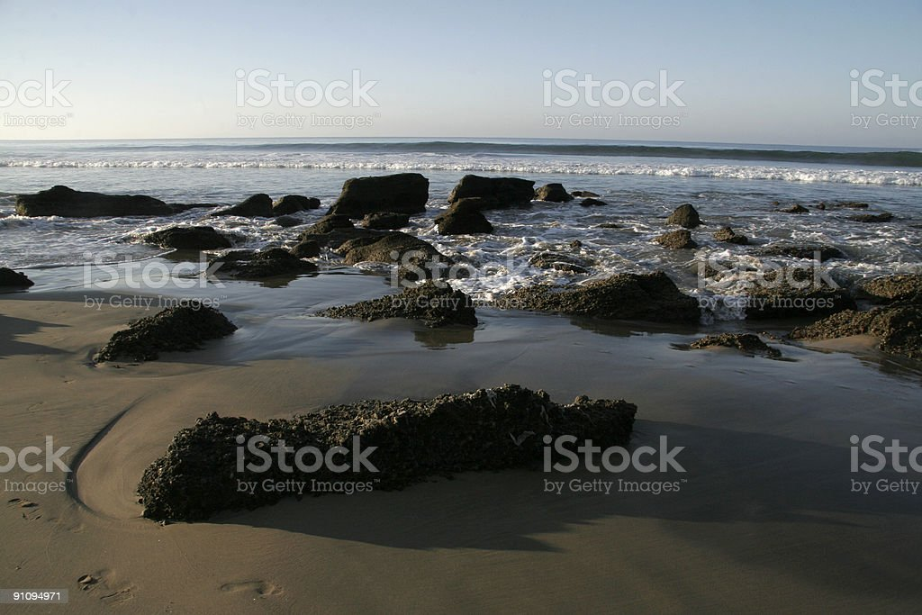 pasific beach stock photo