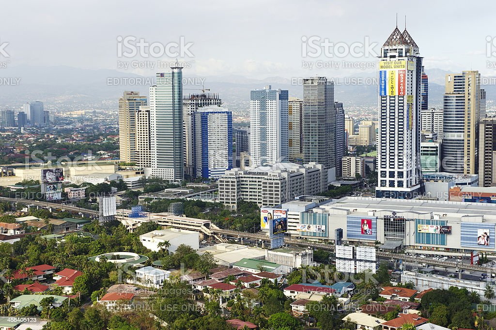 Pasig City royalty-free stock photo