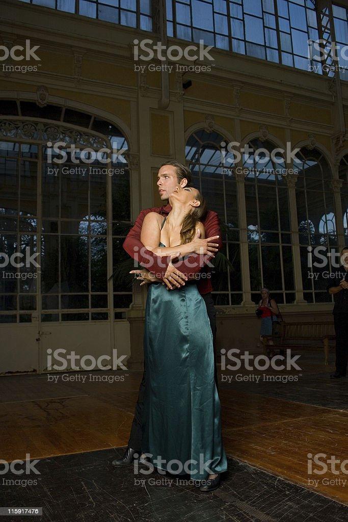 Pasion flamenca stock photo