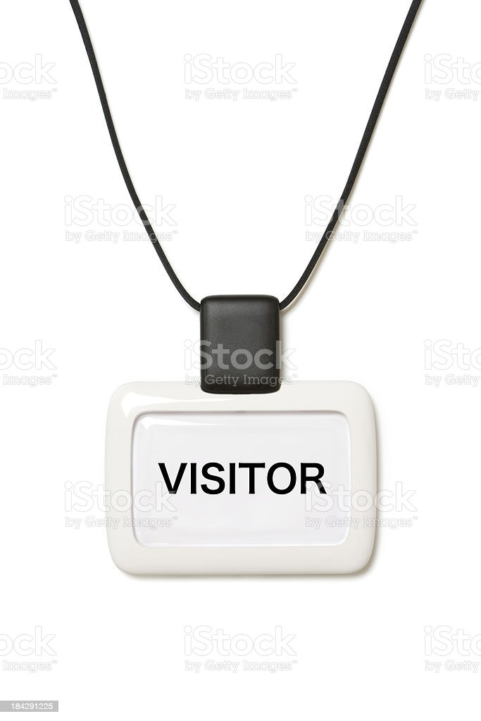 ID Pass royalty-free stock photo