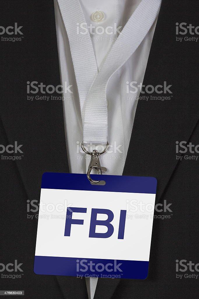 FBI Pass stock photo