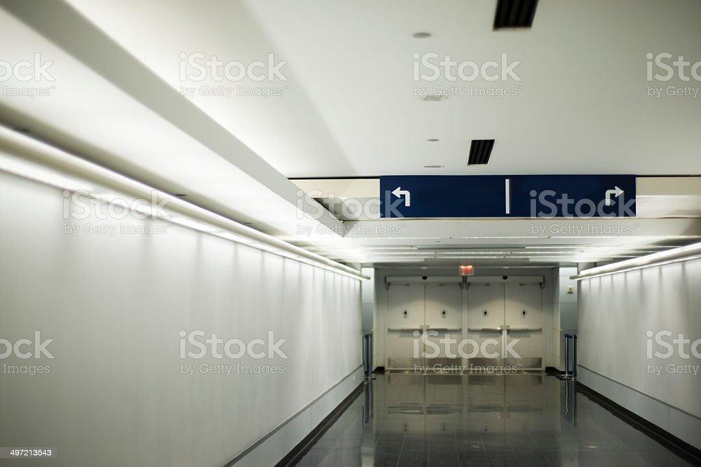 Passage no one royalty-free stock photo