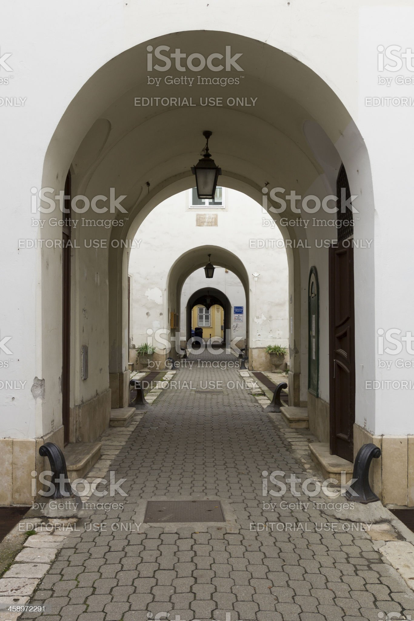 Passage royalty-free stock photo
