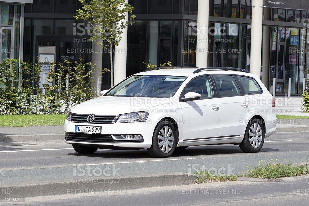 VW Passat station wagon royalty-free stock photo