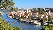 Passau at the Danube River