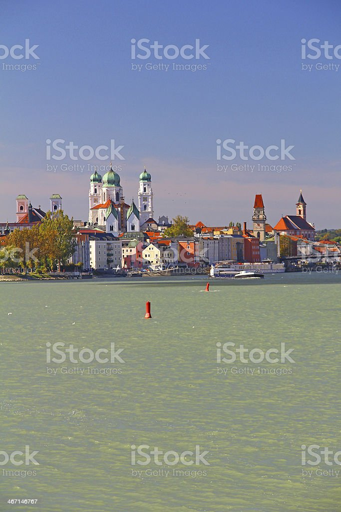 Passau, Bavaria, Germany royalty-free stock photo