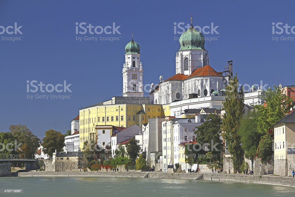 Passau, Bavaria, Germany royalty-free stock photo