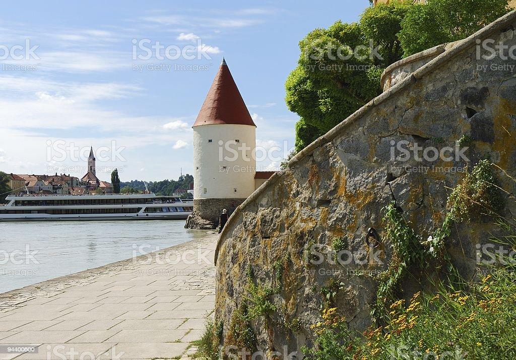 Passau royalty-free stock photo
